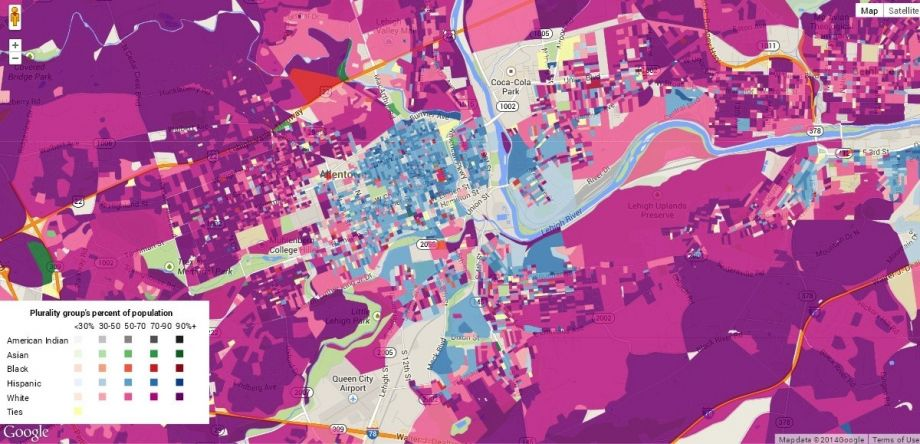 Digital Maps Show Race and Income Data Down to Street Level ...