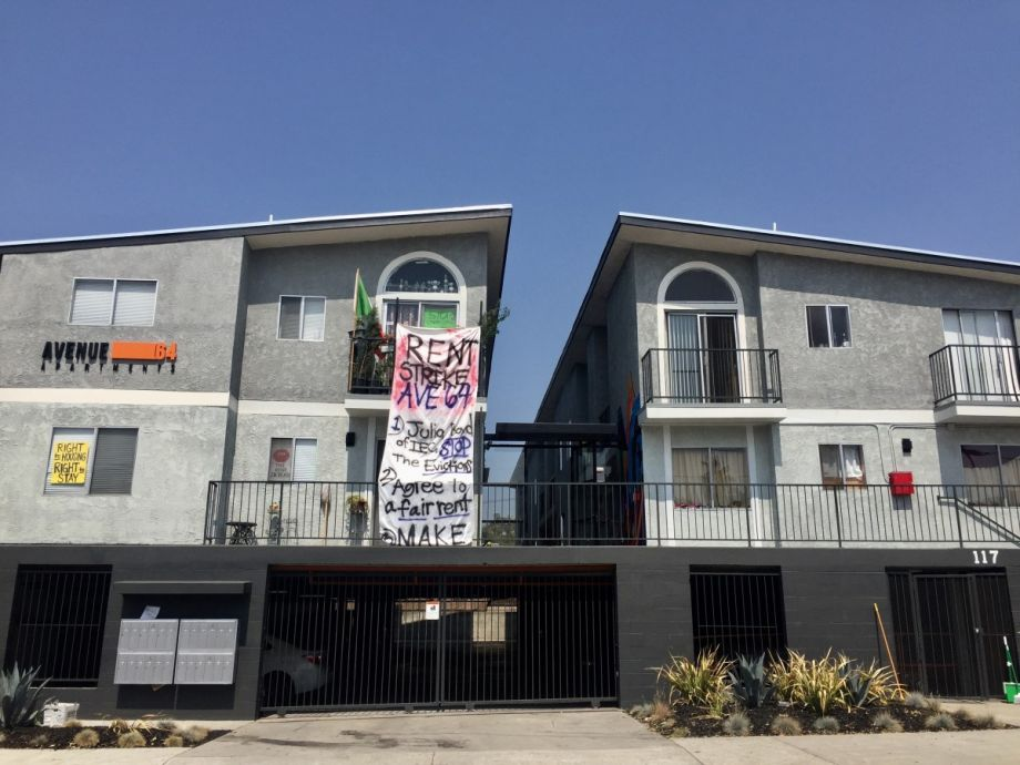 rent strike wave comes to highland park in los angeles next city