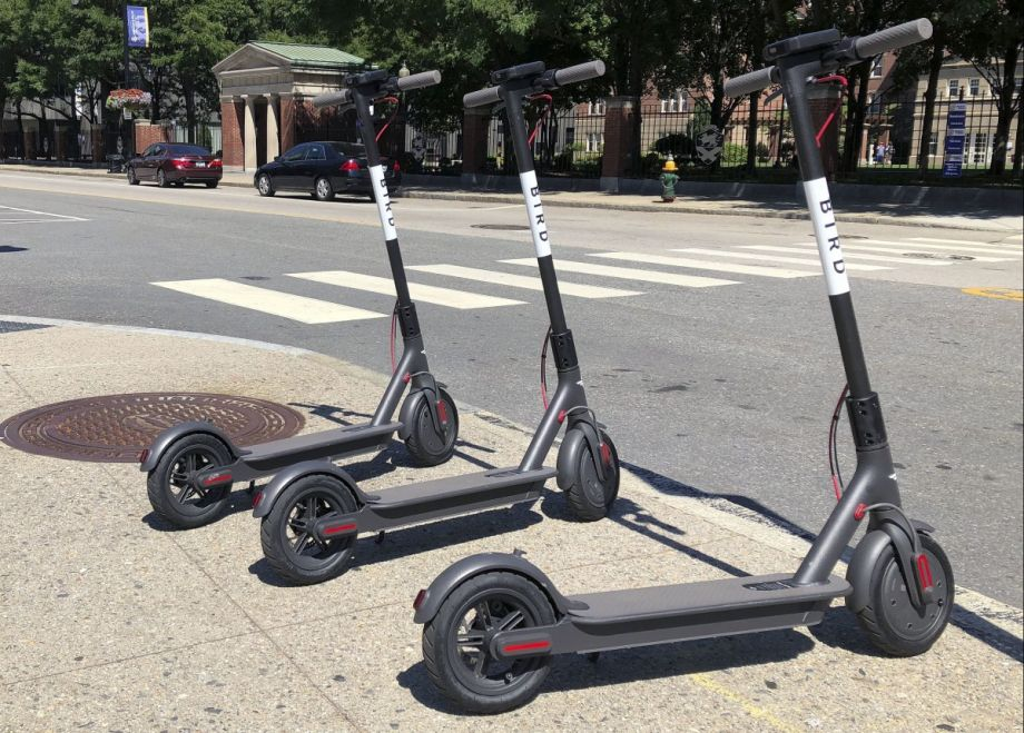 bird drops scooters without warning in three new england. Black Bedroom Furniture Sets. Home Design Ideas