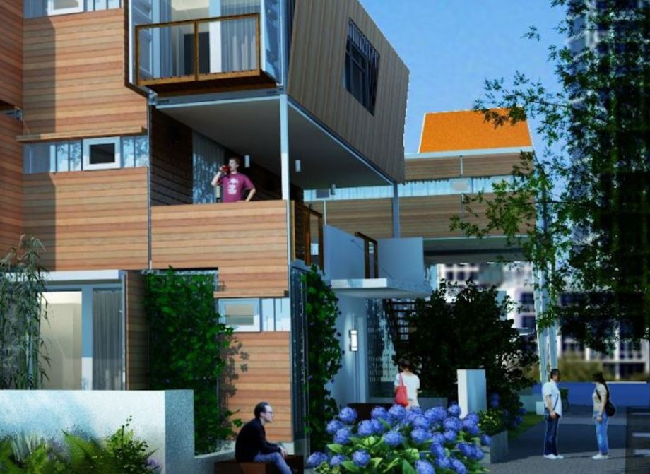 Affordable Shipping Container Living Moves Forward In