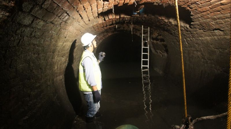 A Journey Into the 140-Year-Old Tunnels Below Calcutta