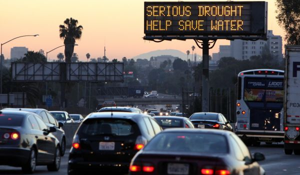 California drought warning