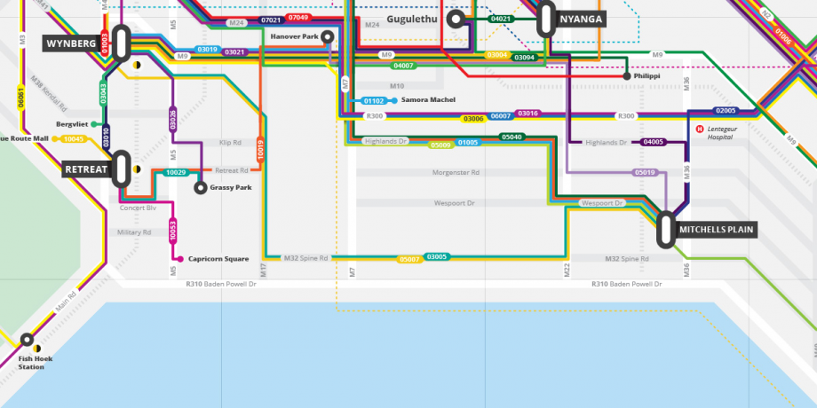 Cape Town Startup Maps Informal Bus Network – Next City Cape Town Map on