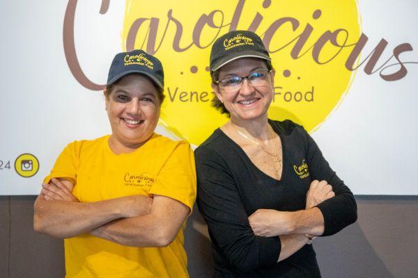 Carolina Garcia and Carolina Salinas of