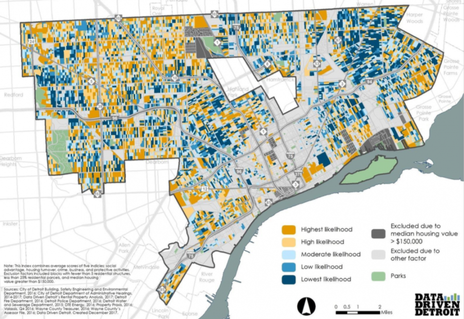 Understanding Gentrification Block by Block In Detroit ... on st louis on map, chicago map, michigan map, great lakes map, baltimore map, new york map, quebec map, duluth map, cincinnati map, pittsburgh map, usa map, henry ford hospital map, royal oak map, atlanta map, toronto map, memphis map, las vegas map, united states map, compton map, highland park map,