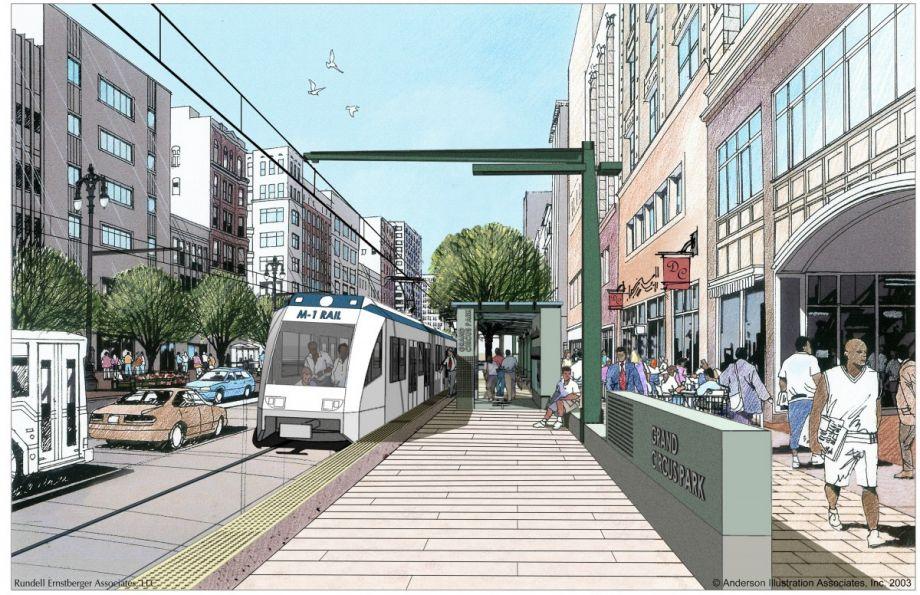 Detroit S M 1 Rail Streetcar A Next City Explainer Next