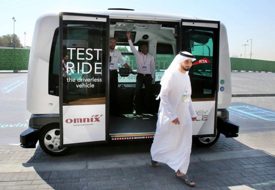 Driverless Cab Starts Test Runs In Dubai Next City