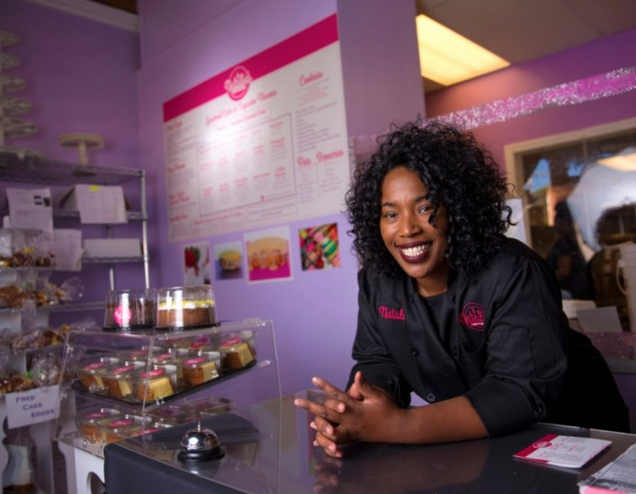 Ferguson baker goes from two hand mixers to supplying starbucks natalie dubose owner of natalies cakes more credit starbucks fandeluxe Gallery