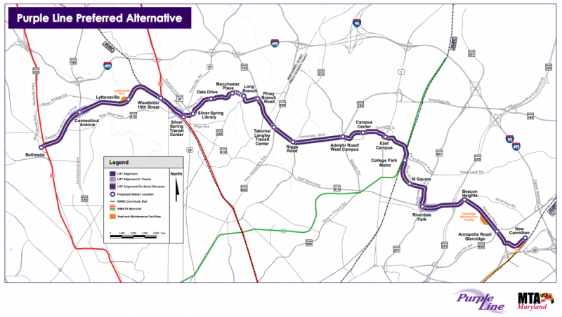On the Heels of D.C. Metro's New Silver Line, Maryland Moves on the Dc Metro Map Silver Line on