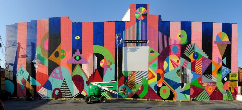Nea our town grants fuel placemaking success in 4 cities for Baltimore mural program