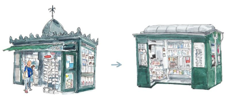 Paris Plans to Ditch Iconic News Kiosk Design – Next City