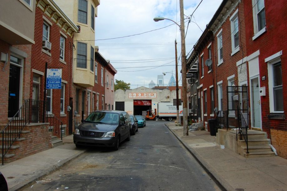 Superior The Typical Residential Street In Philadelphia Is Lined With Rowhouses.  (Photo By Ian Freimuth Via Flickr)