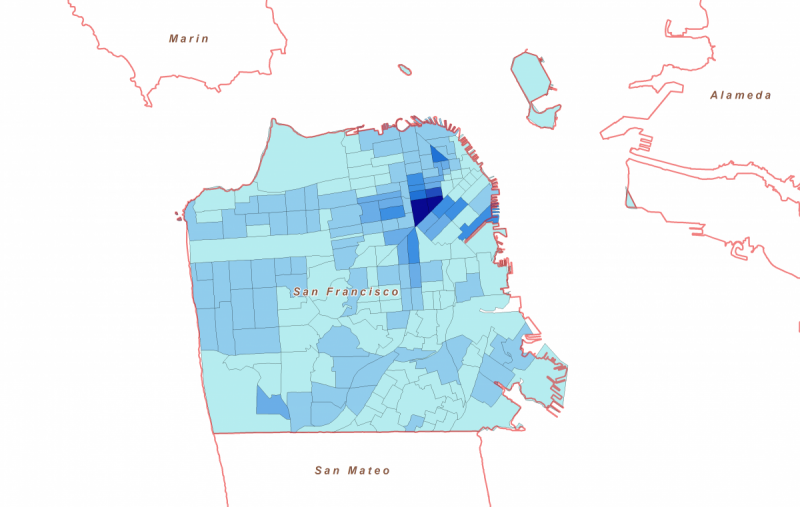 New Maps Size Up Transportation Poverty Risks in 4 Cities Next City