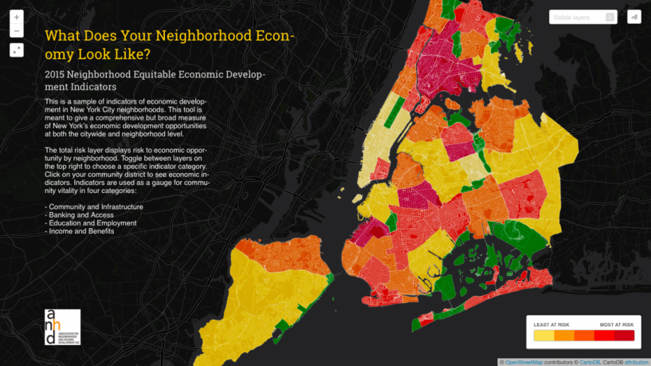 New Tool Maps Nyc Economy By Neighborhood Next City