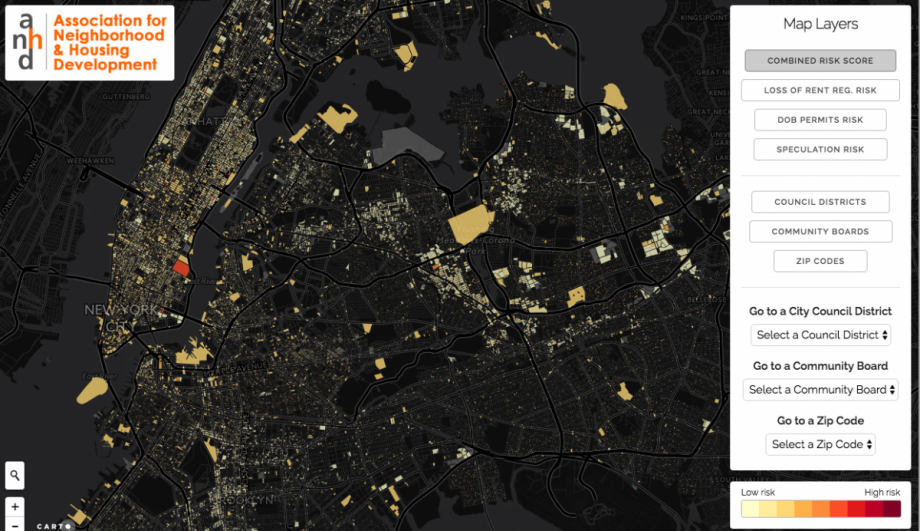 Mapping Displacement Risk in NYC Neighborhoods – Next City