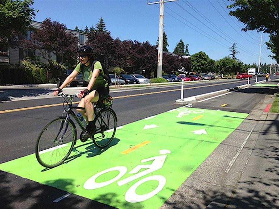 Greening Of Southwest Bike Path >> Seattle Backslides On Bike Plan Construction Next City
