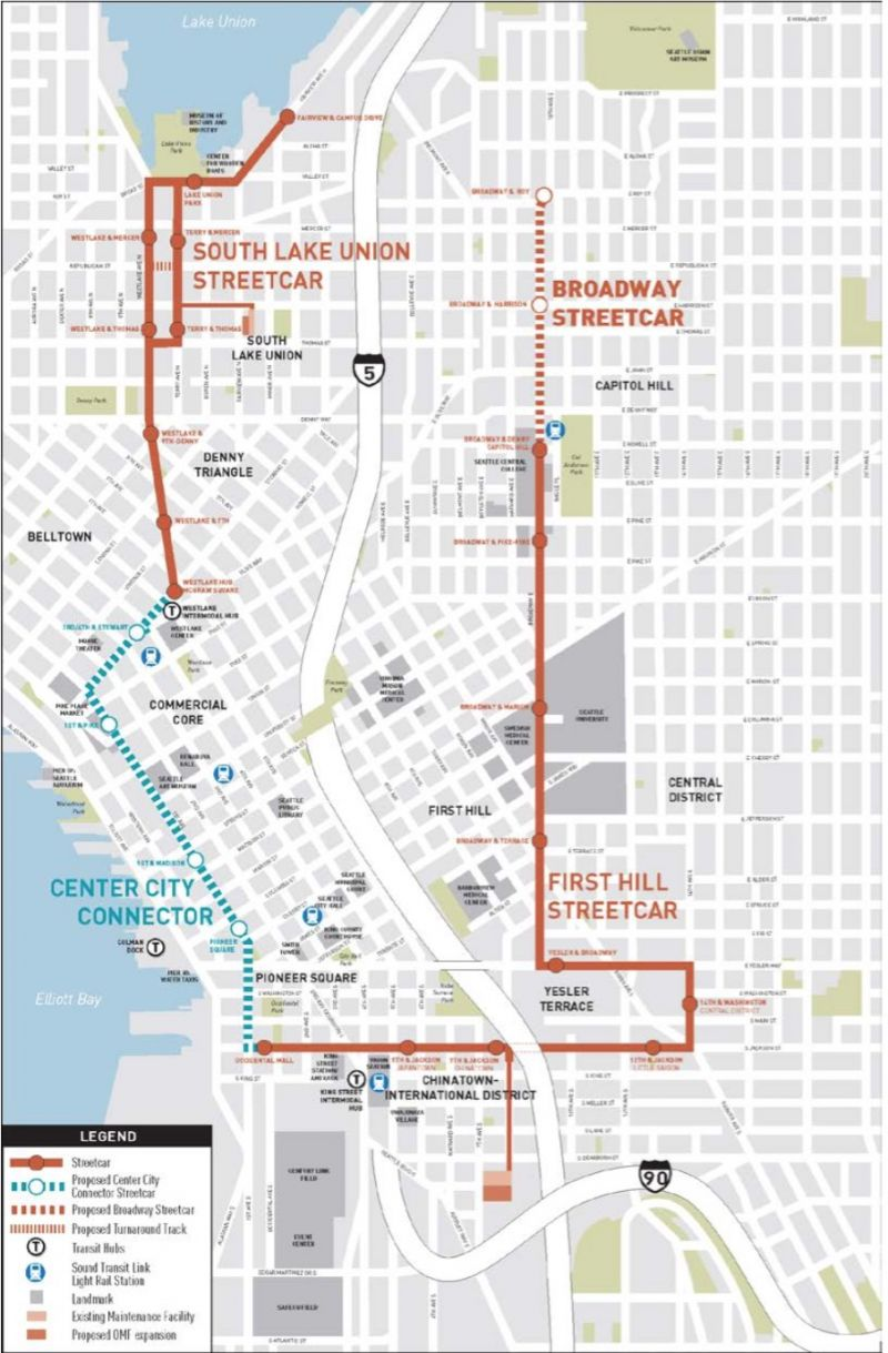 Safety Task Force To Review New Seattle Streetcar Plans