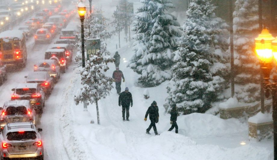 All This Snow Isn't Slowing Down St  Paul's Pedestrian Plan