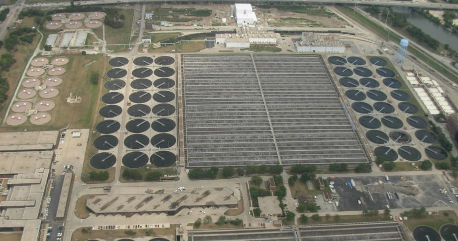 what is the largest wastewater treatment plant