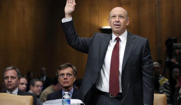 Lloyd Blankfein testifies