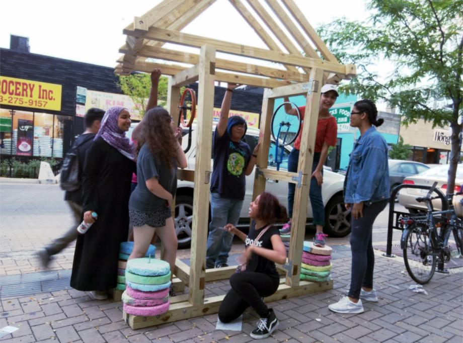 Teen Urban Designers Transform Chicago Public Spaces