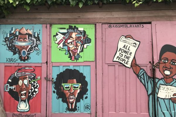 West Oakland street art