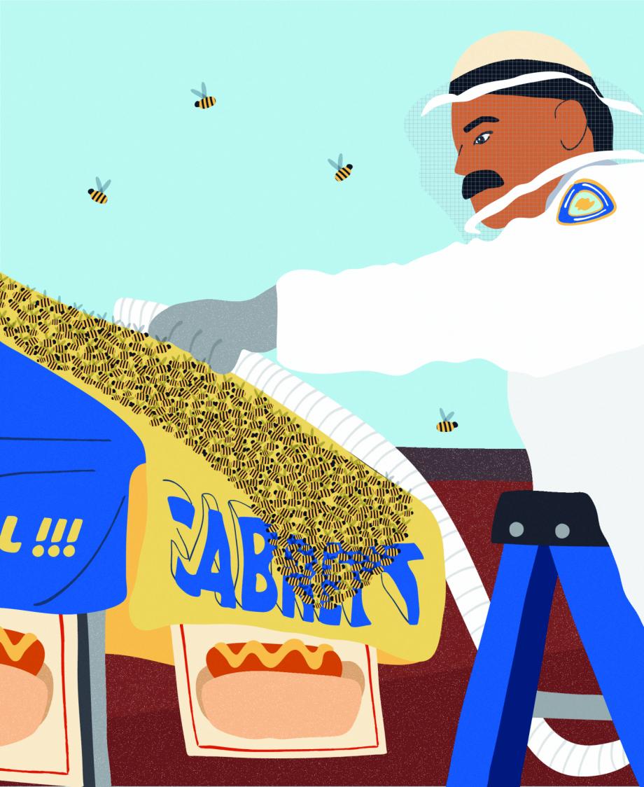 Wild City Honeybees hires 920 1124