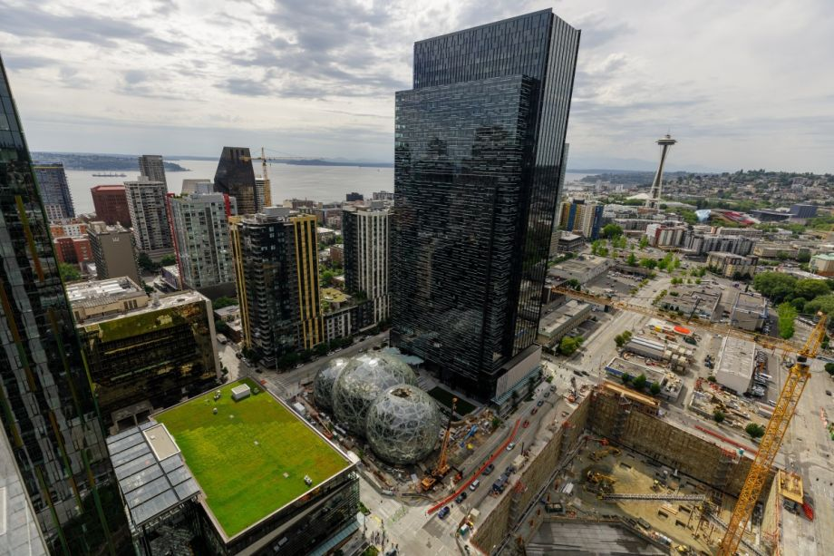 Amazon's Seattle campus