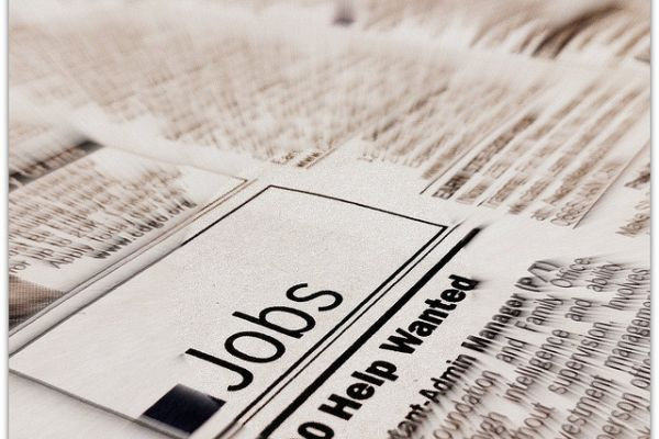 Newspaper help wanted section
