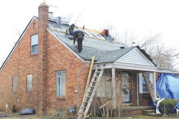 Home repair in Detroit