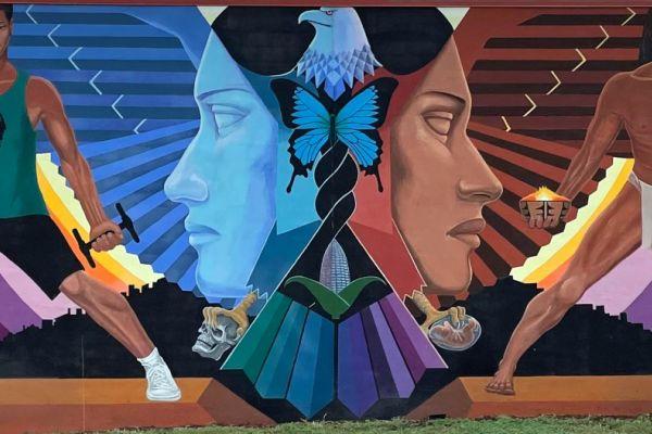 Mural in La Alma
