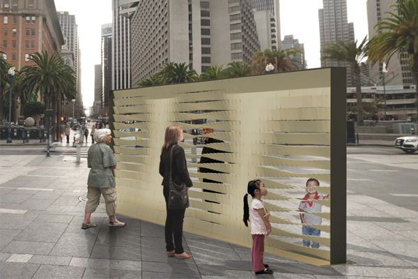 "Urban Furniture Design s.f. is getting musical walls, ""data lanterns"" and street"