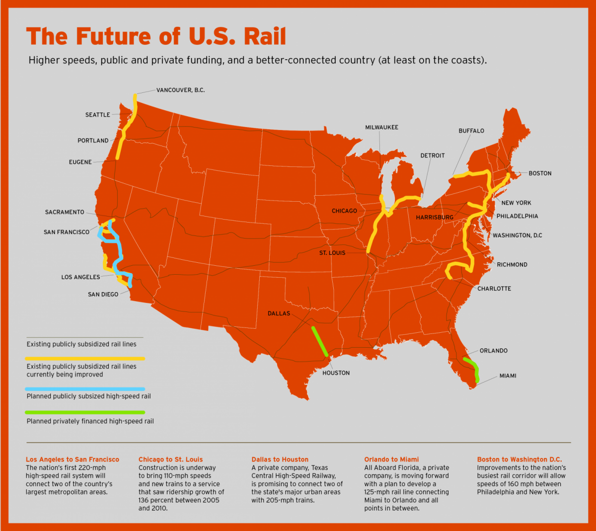 The Bullet Train That Could Change Everything Next City - New york to boston rail on map of us