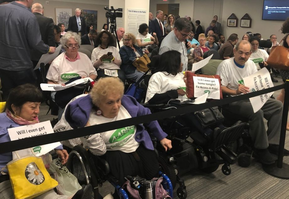 Advocates Rally Against Changes to New York's Paratransit