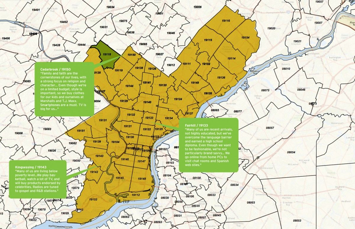 Map Of Philly Zip Codes | Zip Code MAP