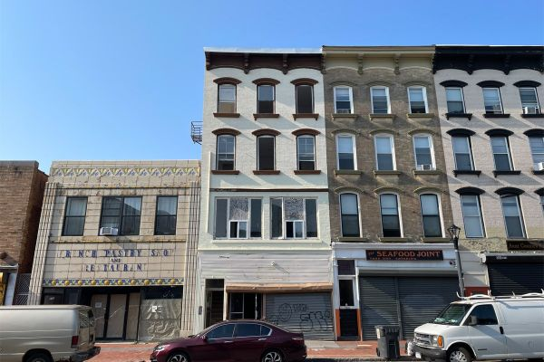 The property in downtown Poughkeepsie that the Salmons are turning into a cafe