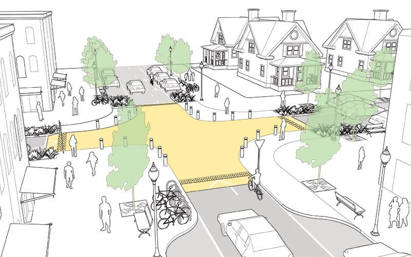 6 Intersection Designs That Actually Prioritize Pedestrians Next City