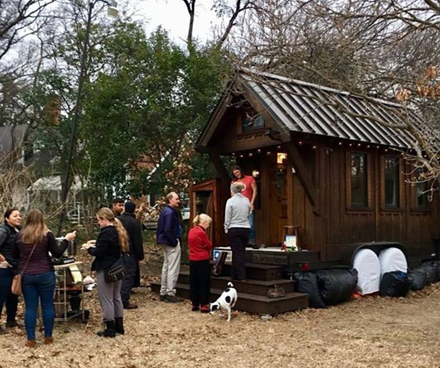New Tiny House Community Shows Shifting City Attitudes To Living