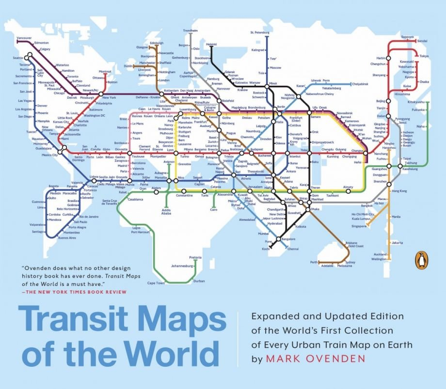 5 beautiful books that belong on every urbanists coffee table transit maps of the world by mark ovendon tells the fascinating stories of transit systems that collided with history gumiabroncs Image collections
