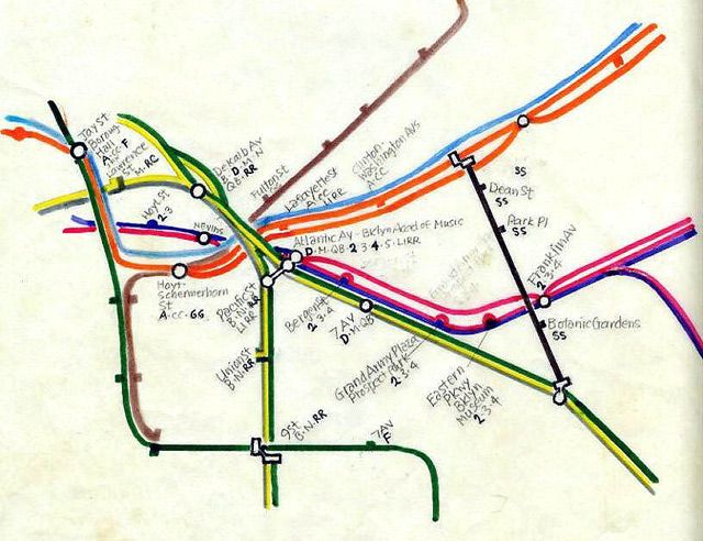 Nyc Subway Map Vs Actual.7 Alternate Versions Of The New York City Subway Map Next City