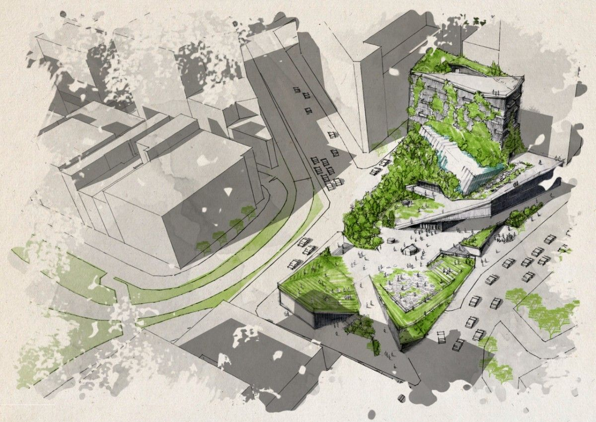 Designs Thread Sustainability Into NYC Climate Museum Ideas – Next City