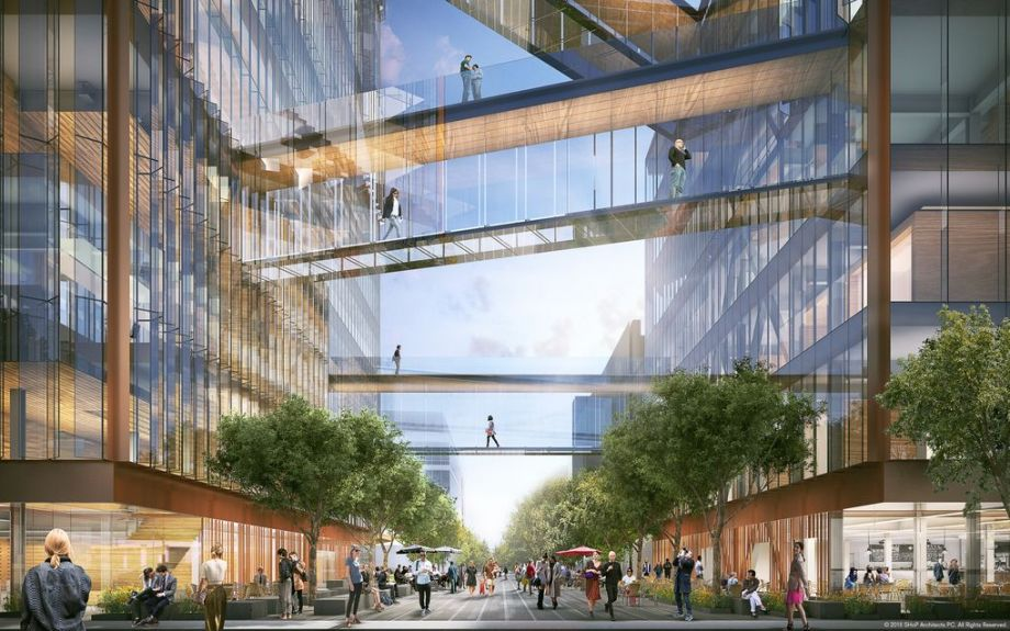 glass facade design office building pinterest ubers building 423000squarefoot temple to the sharing economy economy