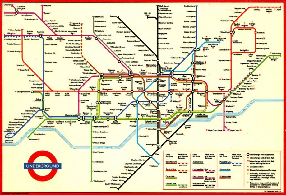 Olympic Effort to Make Londons Underground Ready for the Games – London Subway System Map